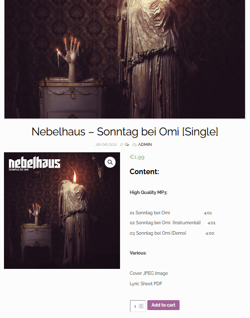 Sonntag bei Omi – now available in the Shop